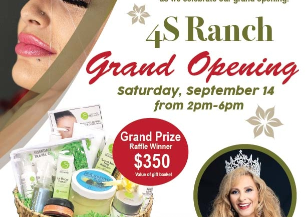 Grace Threading 4S Ranch Grand Opening!